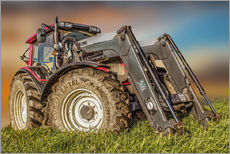 Galleritryck  Tractor with Front Loader - Peter Roder