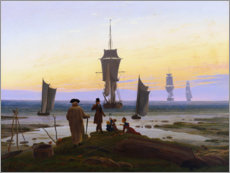 Canvastavla  The Stages of Life - Caspar David Friedrich