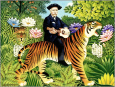 Premiumposter Henri Rousseau's dream
