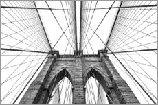 Galleritryck  Brooklyn Bridge