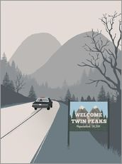 Galleritryck  Welcome to Twin Peaks - 2ToastDesign