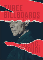 Galleritryck  Three billboards outside ebbing missouri - Fourteenlab