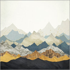 Galleritryck  Distant Peaks - SpaceFrog Designs