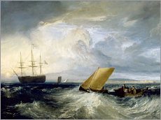 Galleritryck  Sheerness as seen from the Nore - Joseph Mallord William Turner