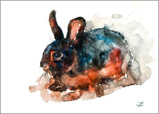 Galleritryck  Tan Rabbit - Zaira Dzhaubaeva
