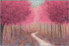 Galleritryck  Forest road in the spring - James Wiens