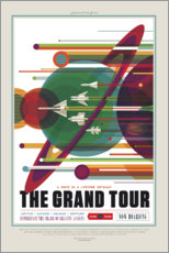 Självhäftande poster  The Grand Tour (Space Travel)
