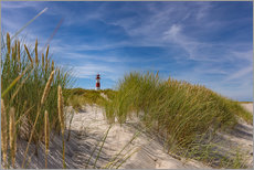 Galleritryck  Lighthouse List / East with dune - Heiko Mundel
