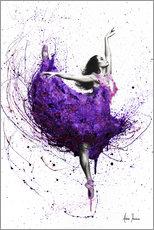 Canvastavla  Purple Rain Ballet - Ashvin Harrison