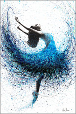 Premiumposter  Dance in the ocean mist - Ashvin Harrison