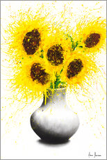 Premiumposter Sunflower Song