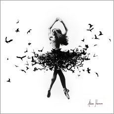 Canvastavla  Free Bird Dance - Ashvin Harrison