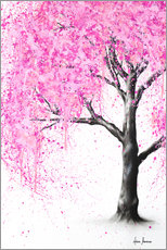 Premiumposter Mysterious blossom
