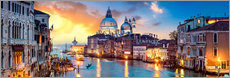 Akrylglastavla  Venice in the evening - Art Couture