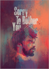 Akrylglastavla  Sorry To Bother You - Fourteenlab