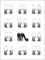 Premiumposter High Heels Collection