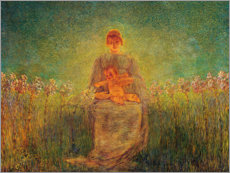 Premiumposter Madonna of Lilies