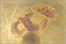 Poster  Dance of the hours - Gaetano Previati
