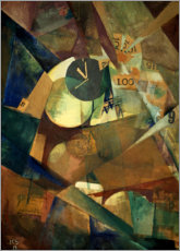 Canvastavla  The big ego picture - Kurt Schwitters