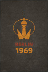 Premiumposter Berlin 1969 - TV Tower