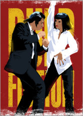 Poster  Pulp Fiction Dance - Nikita Abakumov