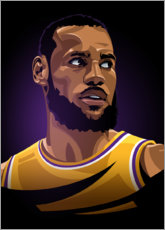 Premiumposter Lebron James