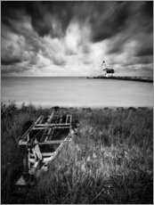 Trätavla  Lighthouse Marken in the Netherlands - Kristian Goretzki