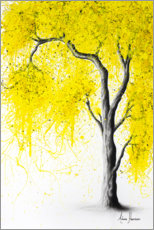 Premiumposter Fall Tree Yellow