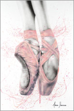 Premiumposter  Pretty Pointe Ballett Skor - Ashvin Harrison