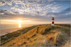 Akrylglastavla  Lighthouse List East on Sylt - Jan Christopher Becke