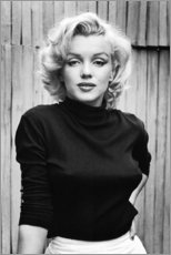 PVC-tavla  Marilyn Monroe - Celebrity Collection