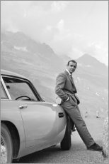 Trätavla  Sean Connery som James Bond - Celebrity Collection