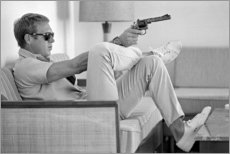 Galleritryck  Steve McQueen - Celebrity Collection