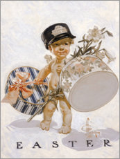 Premiumposter  Easter child - Joseph Christian Leyendecker