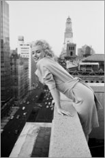 Canvastavla  Marilyn Monroe i New York - Celebrity Collection