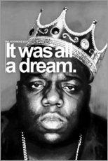 Självhäftande poster  The Notorious B.I.G. - Celebrity Collection