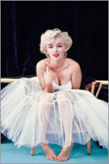 Premiumposter  Marilyn Monroe i balettklänning - Celebrity Collection