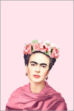 Canvastavla  Hyllning till Frida - Celebrity Collection