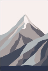 Premiumposter  Mount Everest - Sasha Lend