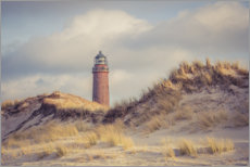 Galleritryck  Lighthouse on the coast near Prerow - Steffen Gierok