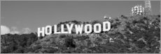 Premiumposter  Hollywood Logga in Los Angeles, Kalifornien