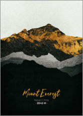 Premiumposter  Mount Everest - Tobias Roetsch