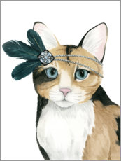 Galleritryck  Cat of Downton I - Grace Popp