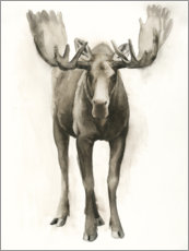 Canvastavla  Majestic moose - Grace Popp
