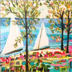 Canvastavla  Nautical Whimsy IV - Karen Fields