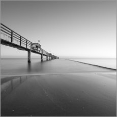 Premiumposter  Pier on the Baltic Sea - Thomas Wegner