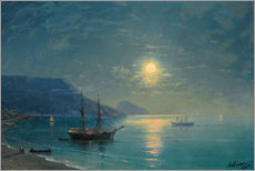 Canvastavla  Evening in the Crimea - Ivan Konstantinovich Aivazovsky