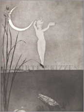 Galleritryck  Title page from the series Etched sketches - Max Klinger