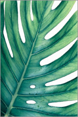 Poster  GREEN MONSTERA - Art Couture