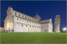 Poster  Cathedral and Leaning Tower of Pisa - Tobias Richter